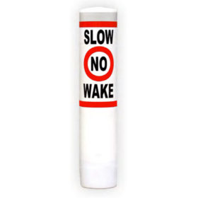 Slow No Wake regulatory buoy